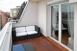 Amenager Petit Balcon Appartement : comment am nager son balcon 5 id es d cos habitatpresto ~ Zukunftsfamilie.com Idées de Décoration