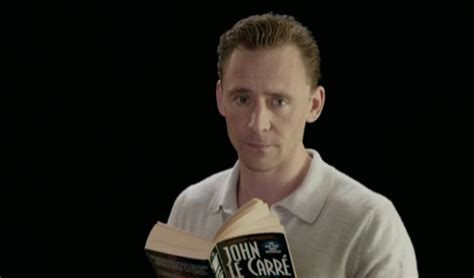 Tom Hiddleston Waxwork Looks Nothing Tom Hiddleston Reading The Manager Is The Best Thing