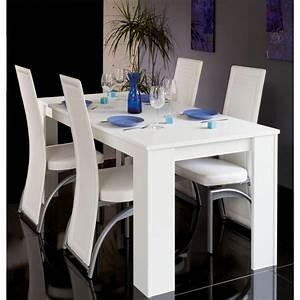 Table A Manger 120 Cm : cityluxe table salle manger extensible maison design ~ Dode.kayakingforconservation.com Idées de Décoration