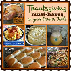 the deliciousness thanksgiving must haves on your dinner table