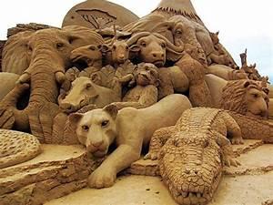 La sculpture de sable un art que nous aimons for Maison a faire soi meme 2 le vase boule petit objet avec de grandes idees