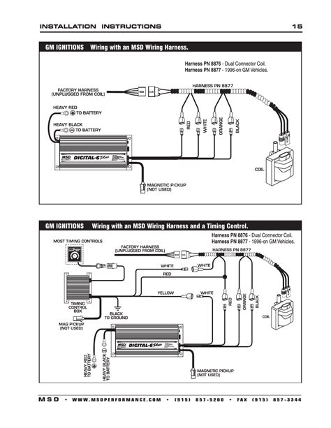msd wiring harness 18 wiring diagram images wiring