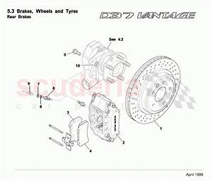 Aston Martin Db7 Vantage Rear Brakes Parts