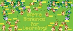 Monkey Bulletin Boards Monkey Themed Classroom Decor