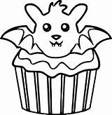 Cupcake Coloring Pages Kitty Hello Drawing Simple Muffin Printable Cupcakes Muffins Getcolorings Getdrawings Clipartmag Cool Colorings sketch template