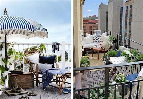 Kleiner Balkon Einrichten by Balkon Platzsparend Einrichten