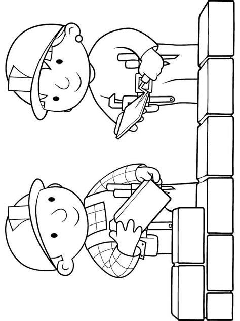 bob the builder coloring pages bob the builder coloring pages and print bob the