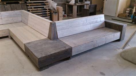 fabriquer canapé fabriquer un canapé lit en bois royal sofa idée de
