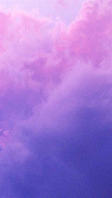 iphone sky flowers purple clouds sea violet bubbles