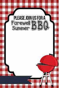 bbq invitation printable organize and decorate everything With barbecue invite template