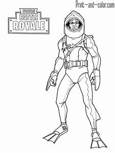 Fortnite Coloring Pages Print And
