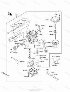Kawasaki Motorcycle 2011 Oem Parts Diagram For Carburetor