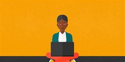 Smart Class Laptops Business Meeting Washington Steps
