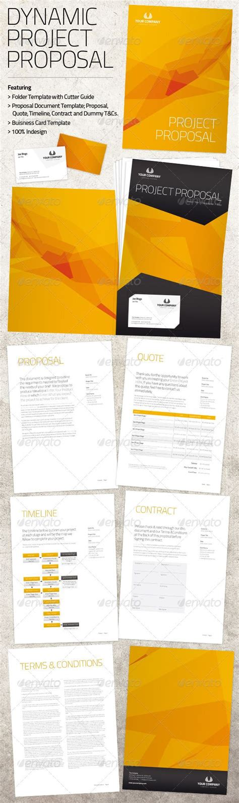 dynamic project proposal pack project proposal template