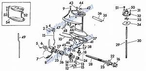Buy B1a300 1957 Evinrude 18 Hp Lower Unit From Model 15020 Motorcycle In Canton  New York