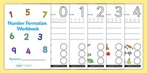 number formation workbook 0 9 handwriting overwriting