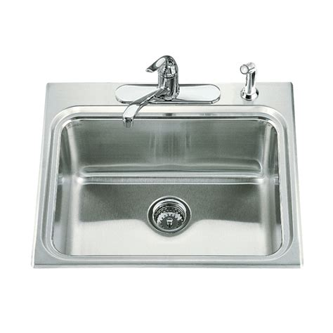 Stainless Steel Laundry Sink by Shop Kohler Stainless Steel Laundry Sink At Lowes