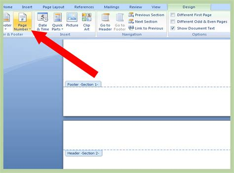 easy ways  add page numbers  page    page