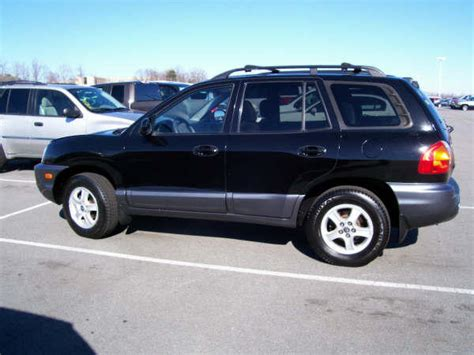 2001 hyundai santa fe pictures 2400cc gasoline manual for sale