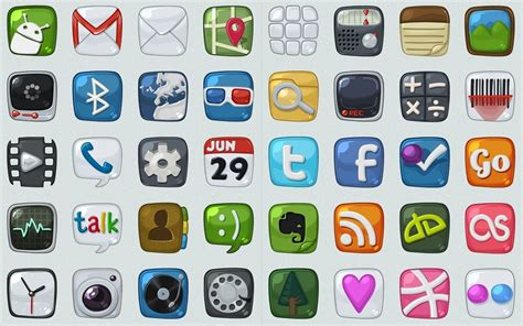 icons for android phones 30 high quality and free android icon sets