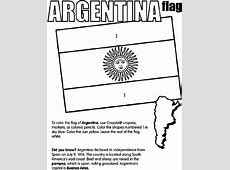 Spanish Speaking Countries Flags Coloring Pages