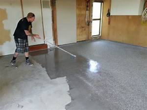Sherwin williams garage floor paint houses flooring for How to clean painted garage floor