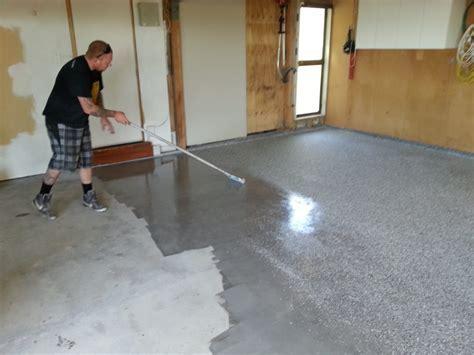 Garage Floor Paint Designs Proccess : Iimajackrussell