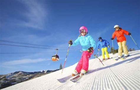 great family ski resorts  learn  ski