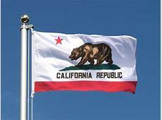 Günstige Kalifornien Flagge 60 x 90 cm FlaggenPlatzde
