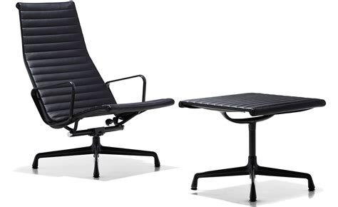 eames 174 aluminum lounge chair ottoman hivemodern