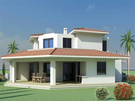 Modern Mediterranean Style Home Plans Modern Mediterranean