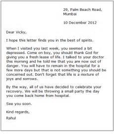 informal letter to friend