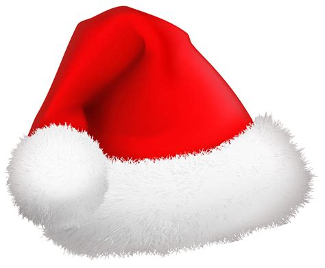 santa hat clipart transparent clipartxtras