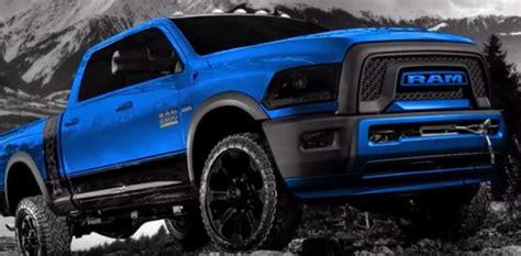 Dodge Hellcat Truck by 2018 Ram Hellcat Power Wagon Trucks