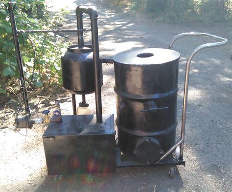 power   apocalypse   build  wood gasifier