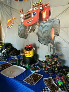 Blaze and Monster Machine Party Ideas