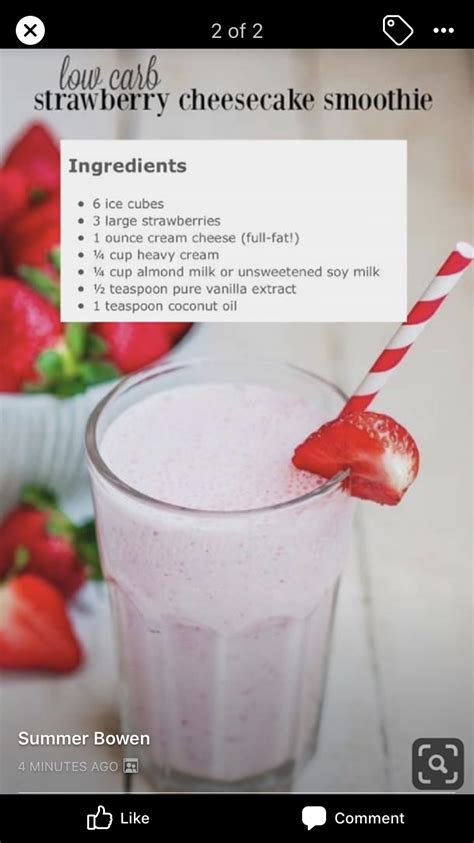 This smoothie has almond milk, raspberries, and unsweetened cocoa powder. Pin by Cynthia Valerio-Contreras on Beverages in 2020   Cheesecake ...