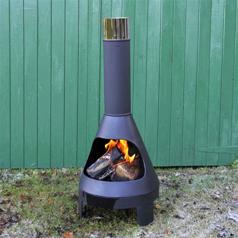 Metal Chimineas For Sale by Greenfingers Lund Chiminea With Grill Large On Sale Fast