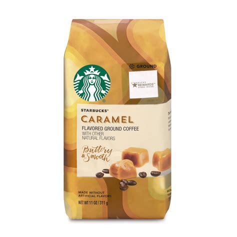 (24) starbucks caramel ground coffee keurig hot k cup pods nib.35oz/ea 2018. Starbucks Caramel Flavored Ground Coffee, 11-Ounce Bag ...