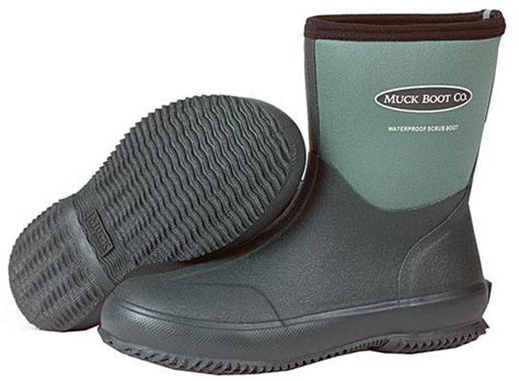 garden boots mens muck boot scrub lawn and garden boot mens gardening boots