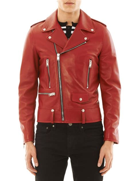 red leather motorcycle jacket red motorcycle jackets jackets