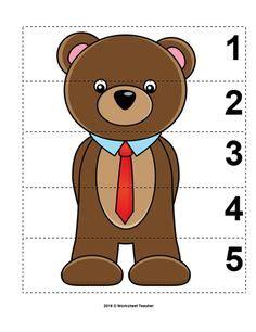 Preschool Teddy Bear Activities preschool activities