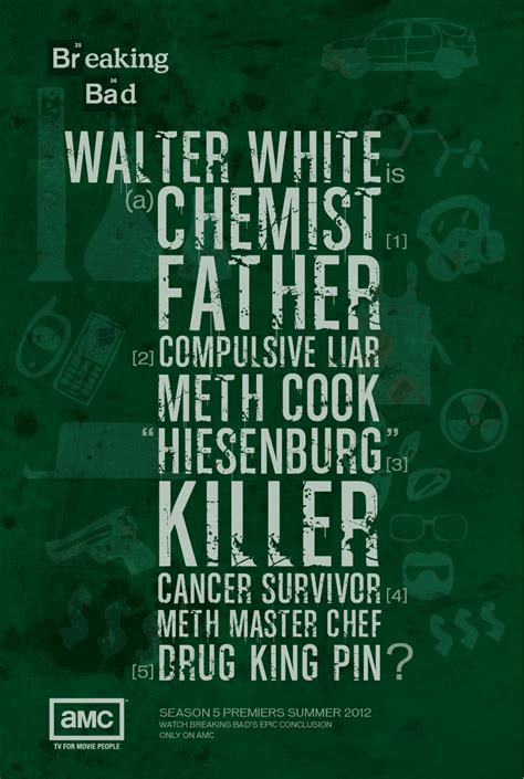 breaking bad poster breaking bad the heizenberg effect page 13