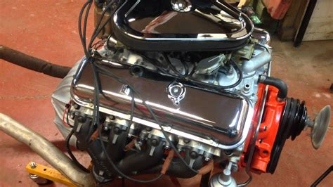 chevrolet hp tri power engine  sale youtube