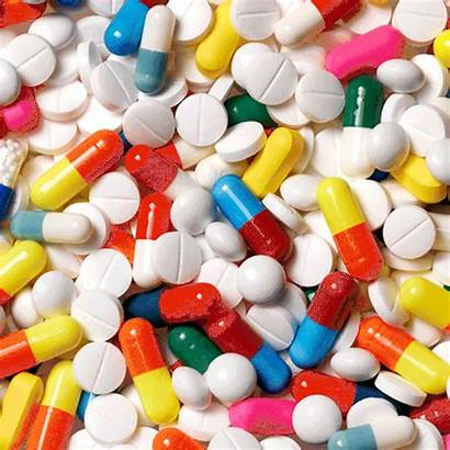 Pills Tripping Medication Medicines Giphy Trippy Colour