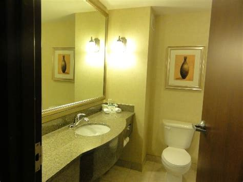 bathroom vanity picture  holiday inn express hotel