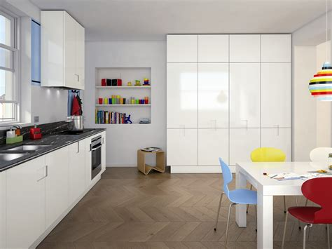 cuisine carré cuisine laquée en granit carré 03 by ernestomeda design