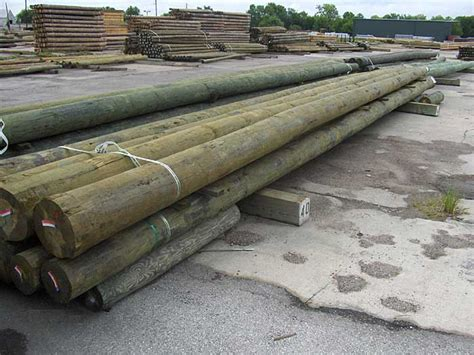 wood light pole cost wood poles pilings posts treated untreated