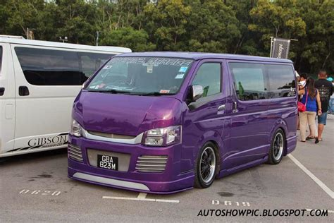 Toyota Hiace Modification by Autoshow Pic Modified Toyota Hiace Singapore