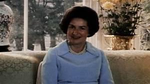 Lady Bird Johnson - White House Living Room
